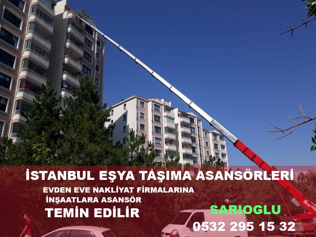 İstanbulda kiralık nakliyat asansörleri acentesi
